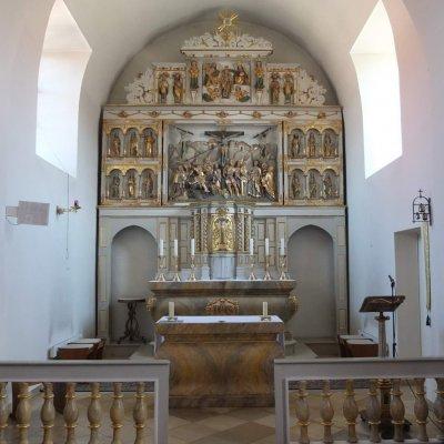 Burgwalde, Kirche St. Georg