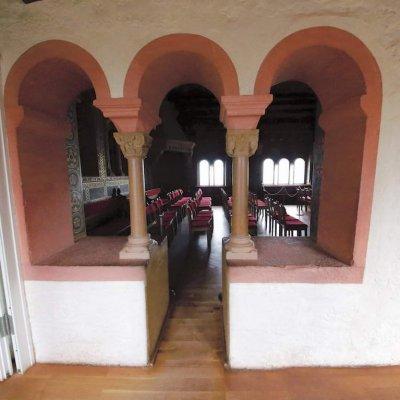 Eisenach, Wartburg – Palas, Dirnitz, Neues Treppenhaus