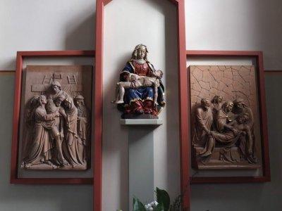 Etzelsbach, Wallfahrtskirche (Besuchsort Papst Benedikt 2011)