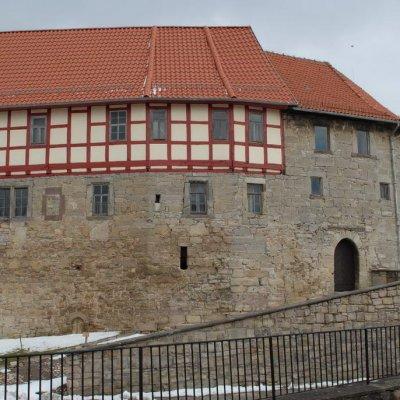 Leinefelde-Worbis, Burg Scharfenstein