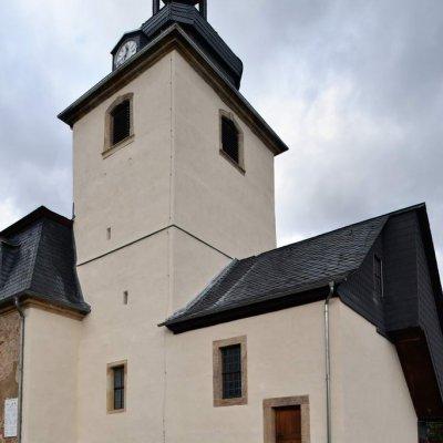 Waltershausen, OT Langenhain, Wehrkirche St. Maria Magdalena