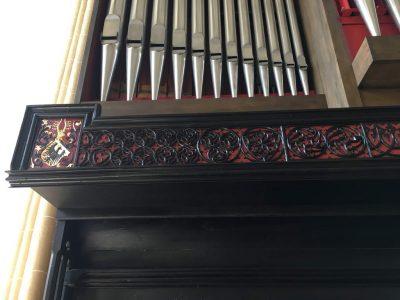 Nordhausen, Dom zum Heiligen Kreuz – Orgelprospekt